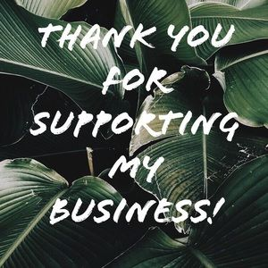🌿 Thank you for supporting my business 🌿